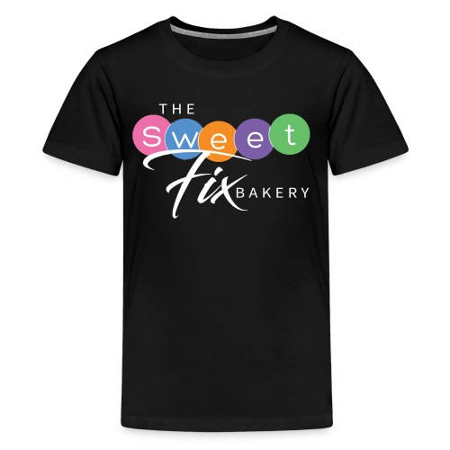 The Sweet Fix Logo White - Kids' Premium T-Shirt