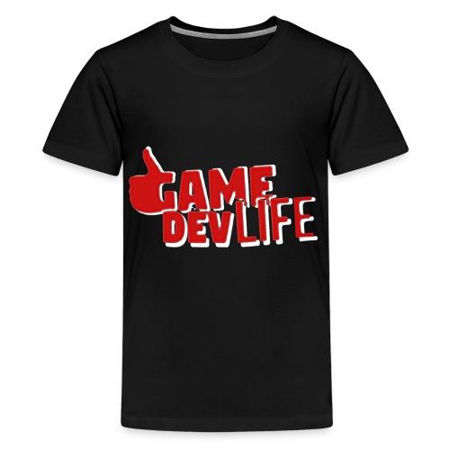 Game Dev Life (NEW DESING) - Kids' Premium T-Shirt