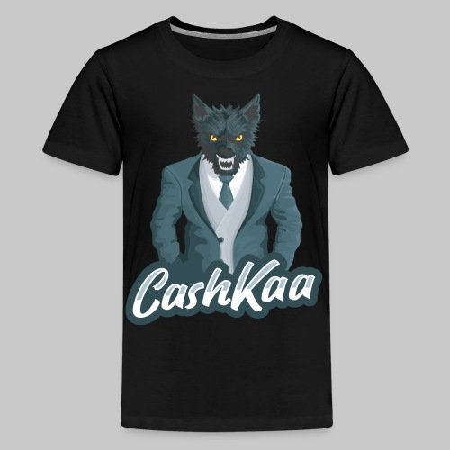 Suited Wolf: CashKaa - Kids' Premium T-Shirt