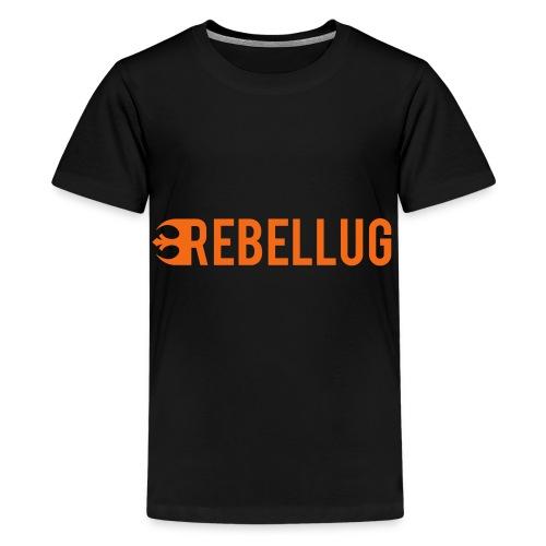just_rebellug_logo - Kids' Premium T-Shirt
