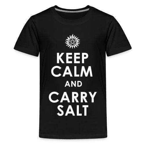 keep calm and carry Salt - Kids' Premium T-Shirt