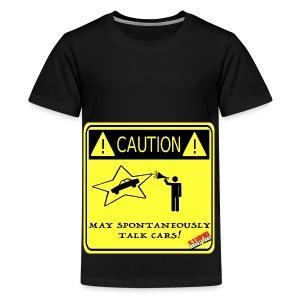 TALK_CARS - Kids' Premium T-Shirt