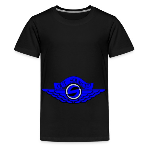 OUTSOURCEDx Jordan Wings inspired - Kids' Premium T-Shirt