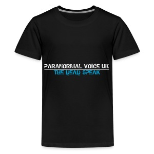 PARANORMAL VOICE UK +SIZE HOODY - Kids' Premium T-Shirt