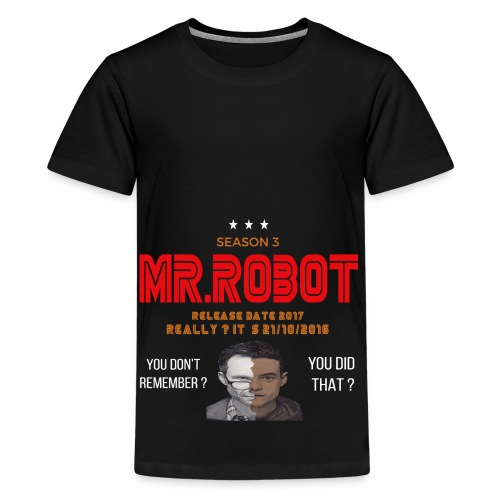 Mr ROBOT - Kids' Premium T-Shirt