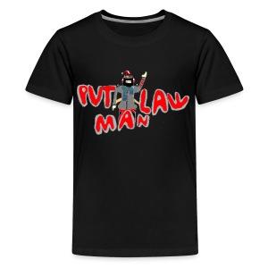 OLD PVTLawman Logo - Kids' Premium T-Shirt