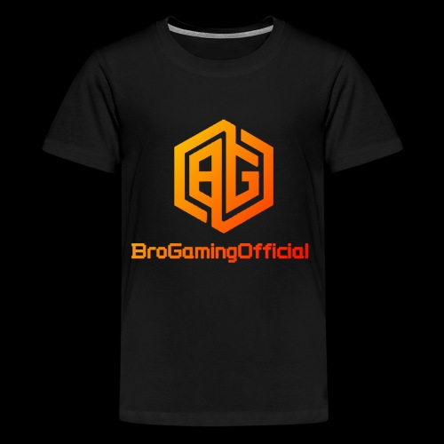 BroGamingOfficial Merch 2 - Kids' Premium T-Shirt