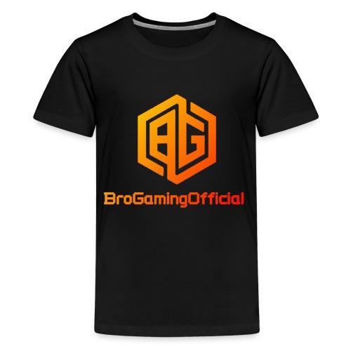 BroGamingOfficial Merch 2 - Kids' Premium T-Shirt