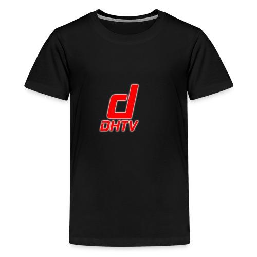 DHTV_Logo_New - Kids' Premium T-Shirt