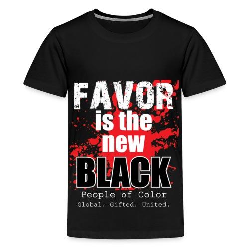 FavorMenBetterFontHIGHRES - Kids' Premium T-Shirt