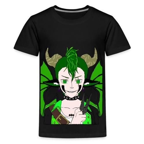 Anarchy punk demon by summer richey - Kids' Premium T-Shirt