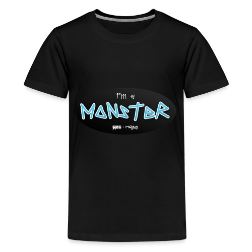 i'm a MONSTER - Kids' Premium T-Shirt