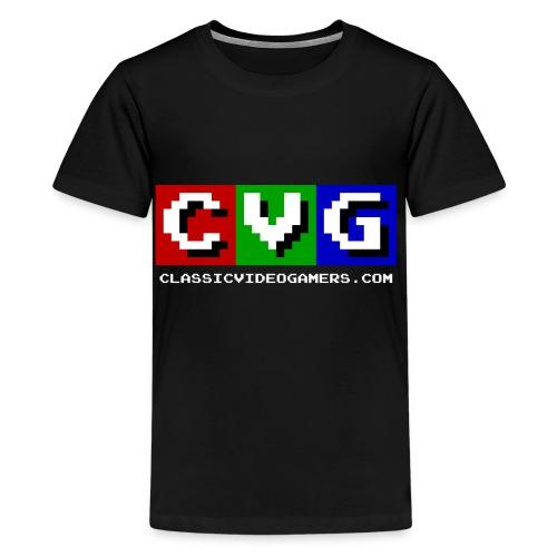 CVG Logo - Kids' Premium T-Shirt