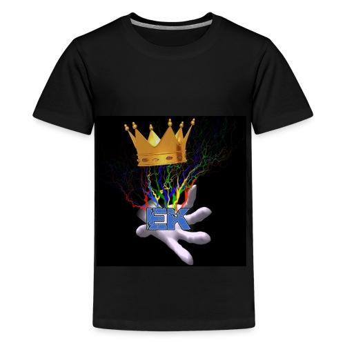Electro King symbol - Kids' Premium T-Shirt