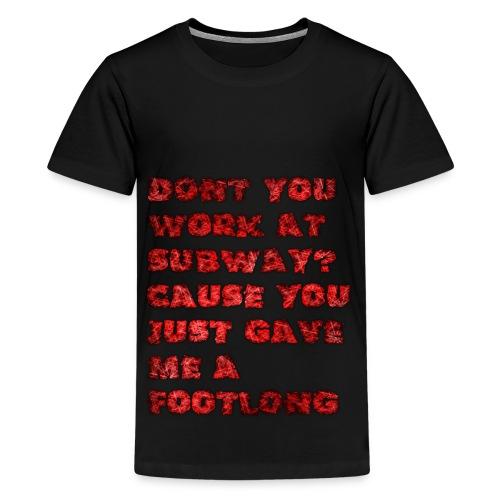 footlong - Kids' Premium T-Shirt