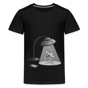 Desktop Abduction - Kids' Premium T-Shirt