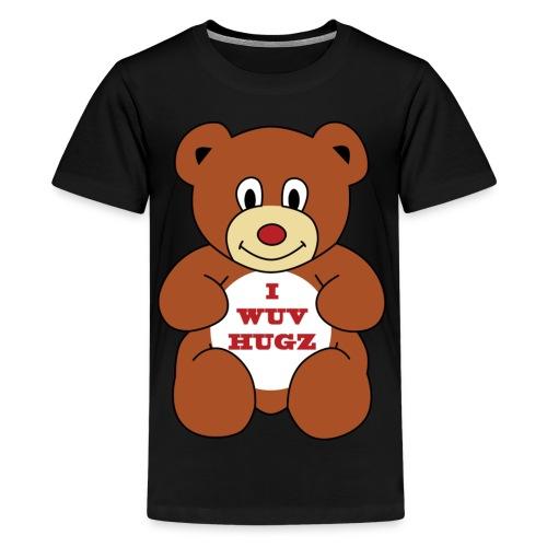 I Wuv Hugs shirt - Kids' Premium T-Shirt