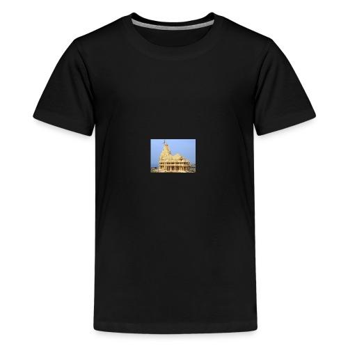 Jyotirling temple - Kids' Premium T-Shirt