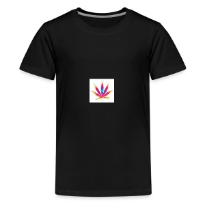 weed leaf2 0 - Kids' Premium T-Shirt