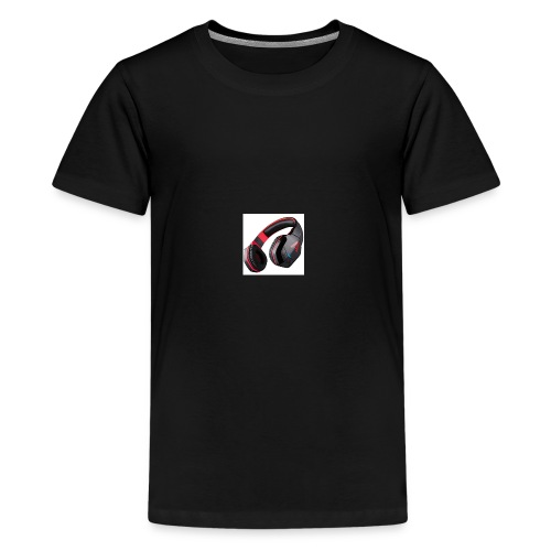 headphones - Kids' Premium T-Shirt