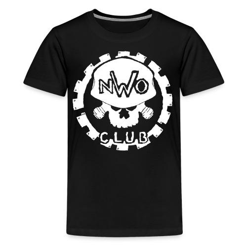 Nwo club with cog logo - Kids' Premium T-Shirt