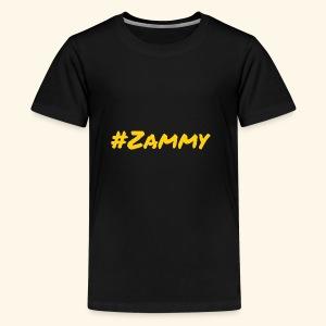 Gold #Zammy - Kids' Premium T-Shirt