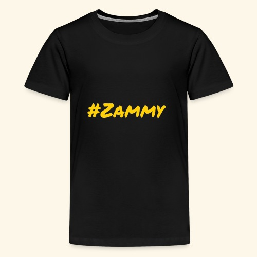 Gold #Zammy - Kids' Premium T-Shirt