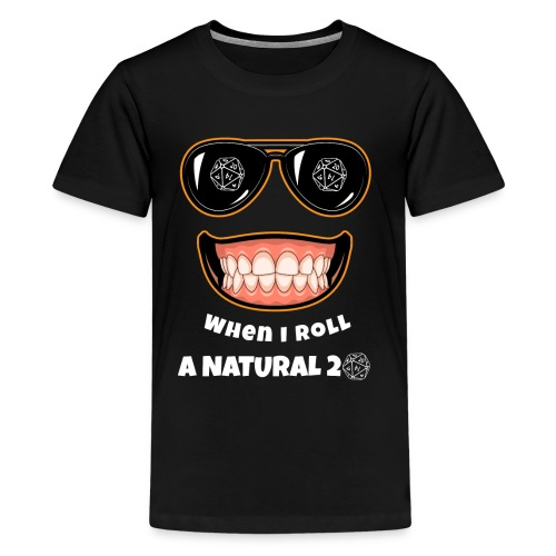 RPG Natural 20 Gaming Gift idea for Gamers, Nerds and Geeks - Kids' Premium T-Shirt