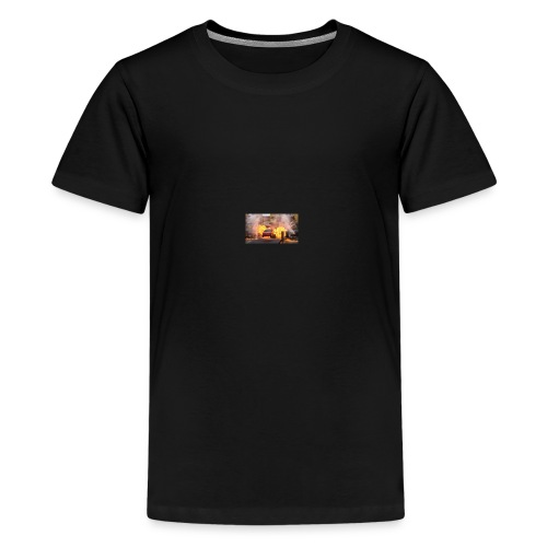 car explode - Kids' Premium T-Shirt
