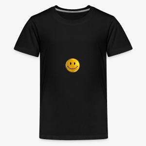 Smile Pin - Kids' Premium T-Shirt