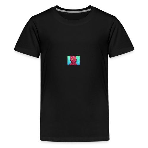 slimey man is here - Kids' Premium T-Shirt