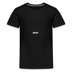 tr2ugs cousins logo BECKEY - Kids' Premium T-Shirt
