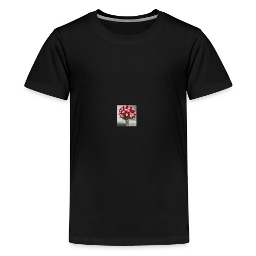rose vase - Kids' Premium T-Shirt