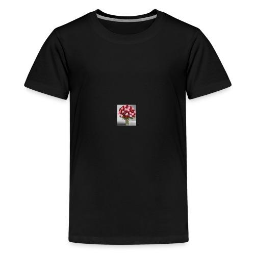 rose vase - Kids' Premium T-Shirt
