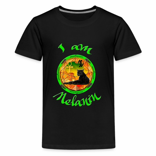 The Melanin Mandala - Kids' Premium T-Shirt