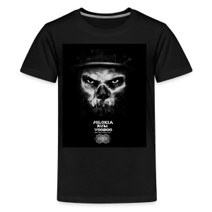 Jolokia Rum Voodoo Witch Doctor - Kids' Premium T-Shirt