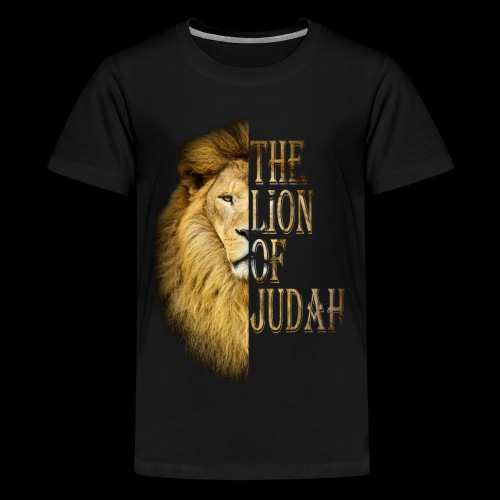 Lion of judah - Kids' Premium T-Shirt