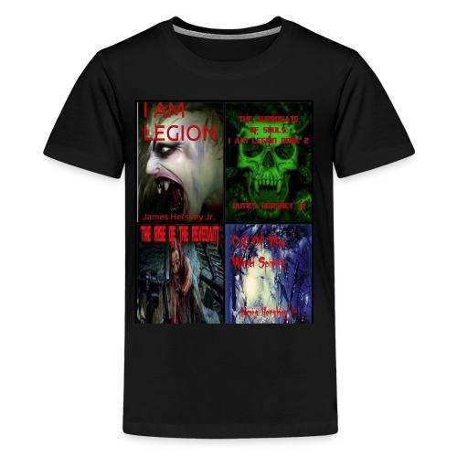 Horror Novels Collection - Kids' Premium T-Shirt