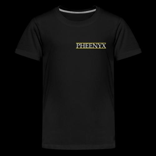 Pheenyx logo white - Kids' Premium T-Shirt