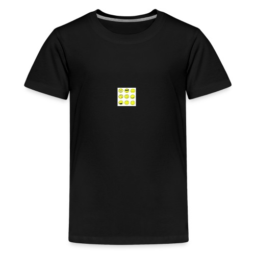 happy faces - Kids' Premium T-Shirt