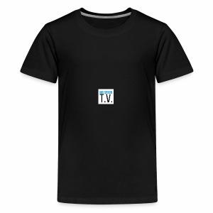 Mr.Spoon T.V. design #2 - Kids' Premium T-Shirt