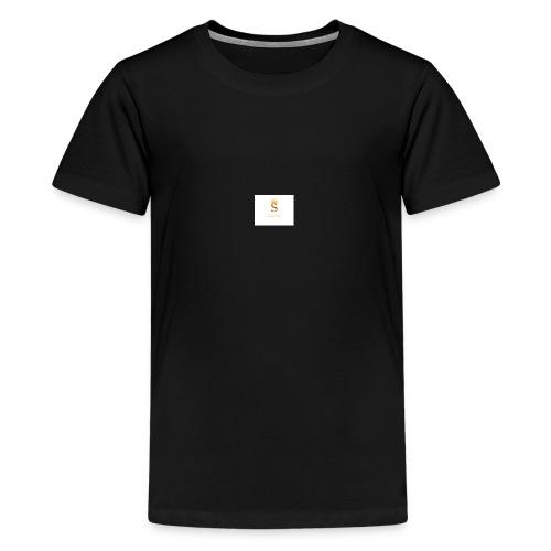 Smile More - Kids' Premium T-Shirt