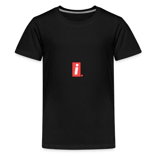Ideal I logo - Kids' Premium T-Shirt
