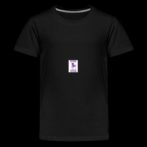 be awesome unicorn Phone case - Kids' Premium T-Shirt