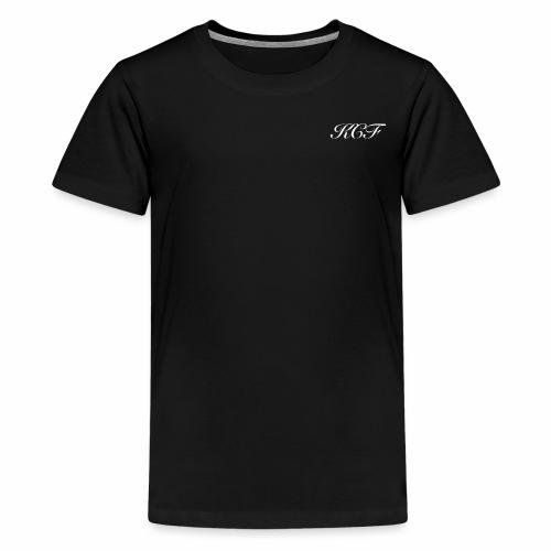KCF in Black - Kids' Premium T-Shirt