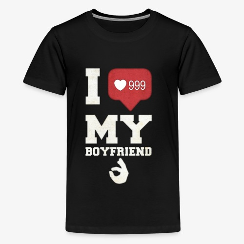 I love my Boyfriend - Kids' Premium T-Shirt