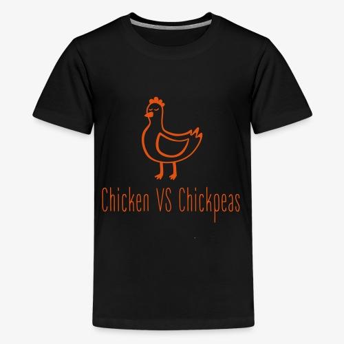 Chicken VS Chickpeas - Kids' Premium T-Shirt