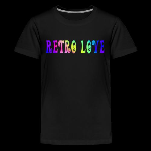 RETRO LOVE - Kids' Premium T-Shirt