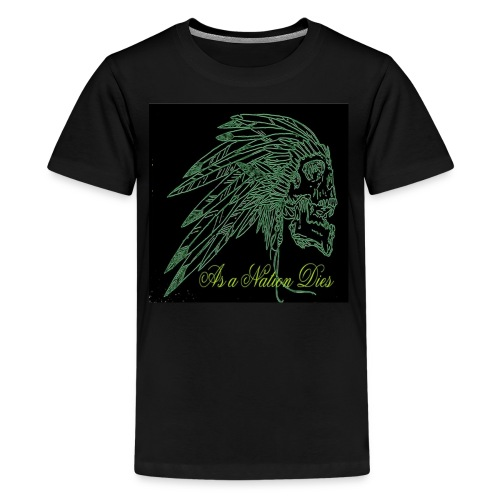 green indian - Kids' Premium T-Shirt