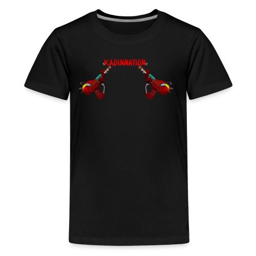 KadinNation raygun shirt - Kids' Premium T-Shirt